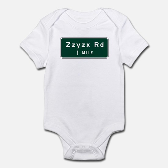Zzyzx, CA (USA) Infant Bodysuit