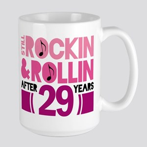 29th Anniversary Funny Gift Mugs