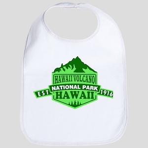 Hawaii Volcanoes - Hawaii Baby Bib