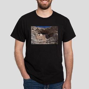 Montezuma's Castle cliff dwelling in Camp T-Shirt
