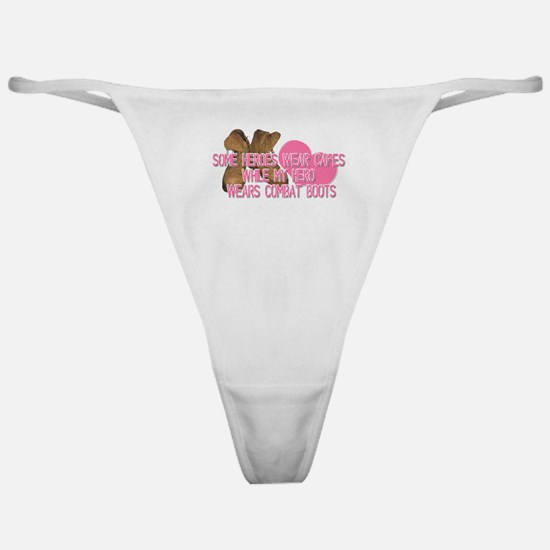 Some Heroes Wear Capes Classic Thong