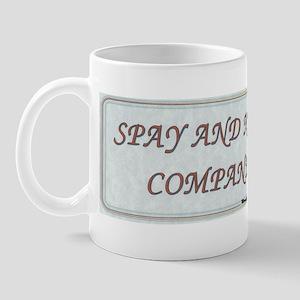 Spay and Neuter! Mug