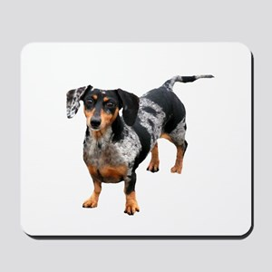 Spotted Doxie Mousepad