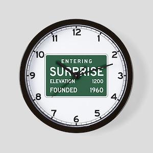 Surprise, AZ (USA) Wall Clock