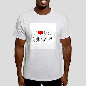 """""""I Love My Swimmer Kid"""" Light T-Shirt"""