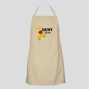 Army Sister (Ribbon Rose) BBQ Apron