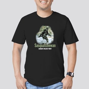 Sasquatchewan Women's Dark T-Shirt
