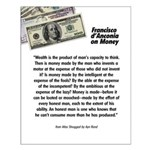 Francisco on Money Small Poster