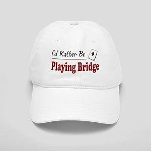 Rather Be Playing Bridge Cap