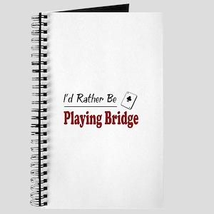 Rather Be Playing Bridge Journal