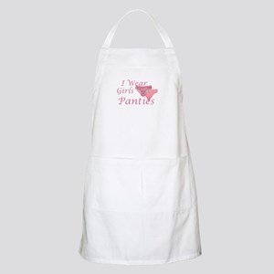 I wear Girls Panties BBQ Apron