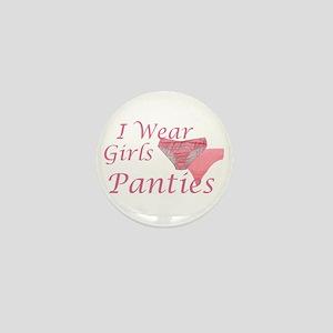 I wear Girls Panties Mini Button