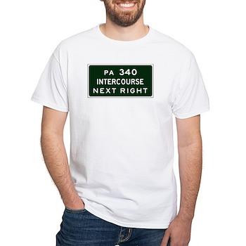 Intercourse, PA White T-Shirt