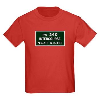 Intercourse, PA Kids Dark T-Shirt