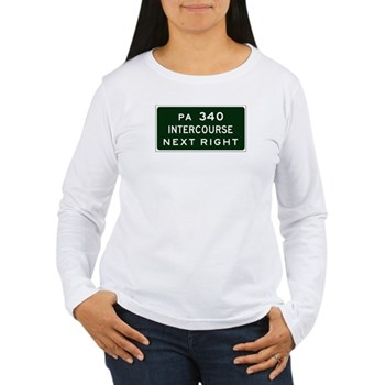 Intercourse, PA Women's Long Sleeve T-Shirt