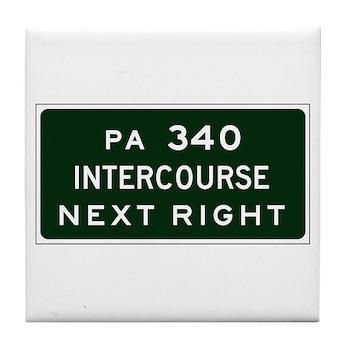 Intercourse, PA Tile Coaster