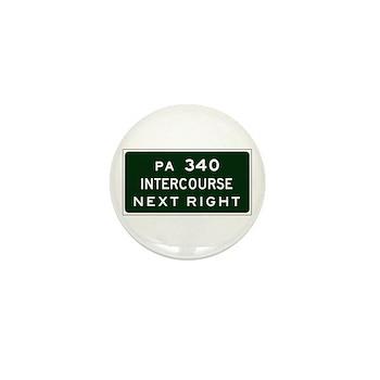 Intercourse, PA Mini Button