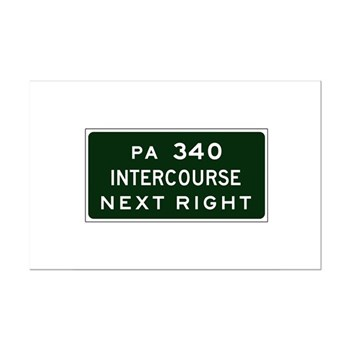 Intercourse, PA Mini Poster Print