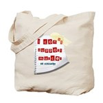 I Dont Support Murder Tote Bag