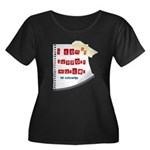 I Dont Support Murder Women's Plus Size Scoop Neck