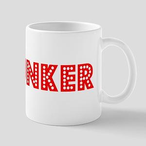Retro Spelunker (Red) Mug