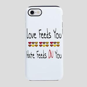 Love Feeds You iPhone 8/7 Tough Case