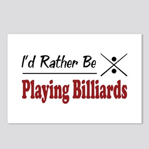 Rather Be Playing Billiards Postcards (Package of