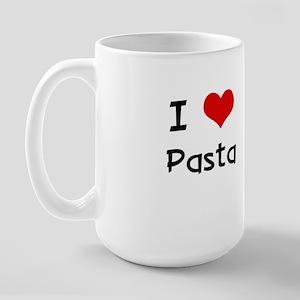 I LOVE PASTA Large Mug