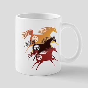 Three Ancient Horses Mug