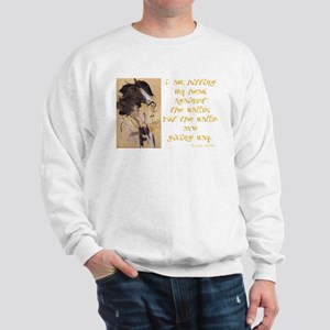 Gustav Mahler-Hitting My Head Sweatshirt