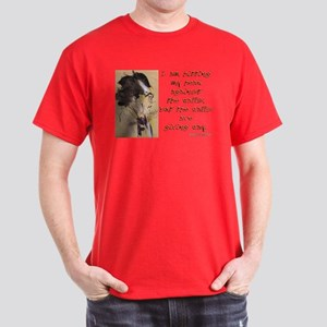 Gustav Mahler-Hitting My Head Dark T-Shirt