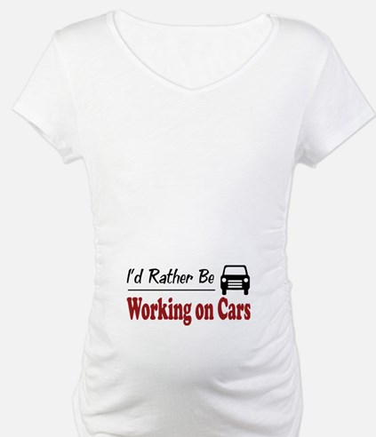 Rather Be Working on Cars Shirt