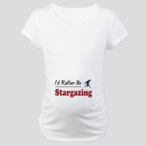 Rather Be Stargazing Maternity T-Shirt