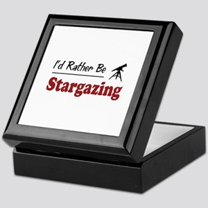Rather Be Stargazing Keepsake Box