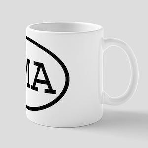 RMA Oval Mug