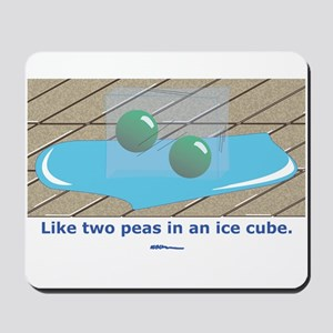 in an Ice Cube Mousepad