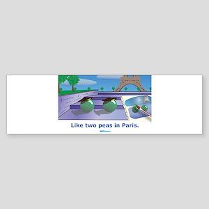 in Paris Bumper Sticker