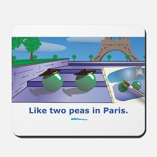 in Paris Mousepad