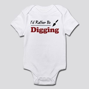 Rather Be Digging Infant Bodysuit