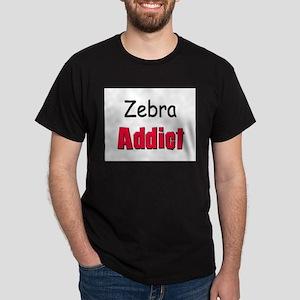Zebra Addict Dark T-Shirt