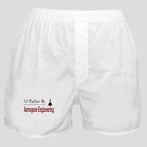 Rather Be Aerospace Engineering Boxer Shorts