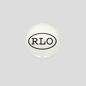 RLO Oval Mini Button
