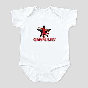 GERMANY EURO STARS Infant Bodysuit