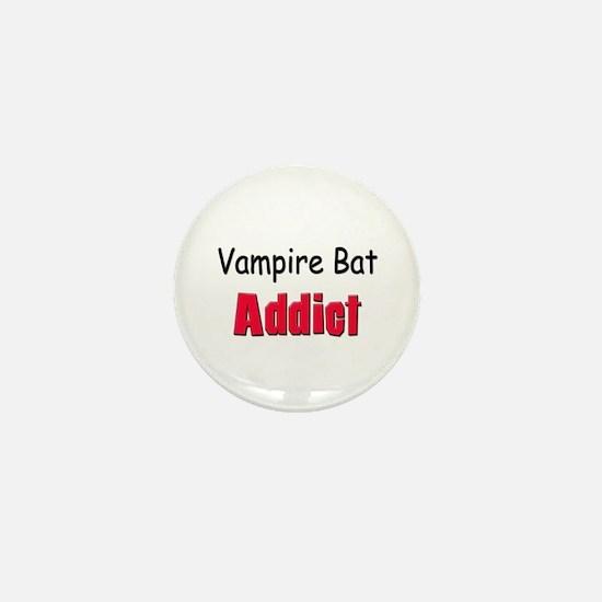 Vampire Bat Addict Mini Button