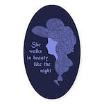 In Beauty Sticker (Oval 10 pk)