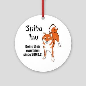 Shiba 300 B.C. Ornament (Round)