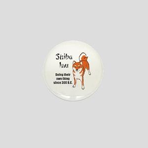 Shiba 300 B.C. Mini Button