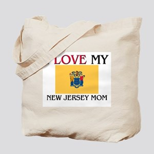 I Love My New Jersey Mom Tote Bag
