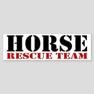 Horse Rescue Team Bumper Sticker