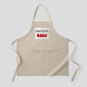 Swordfish Addict BBQ Apron